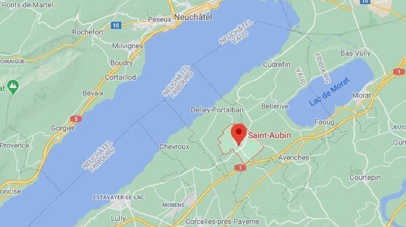 Accident mortel au sud du lac de Neuchâtel