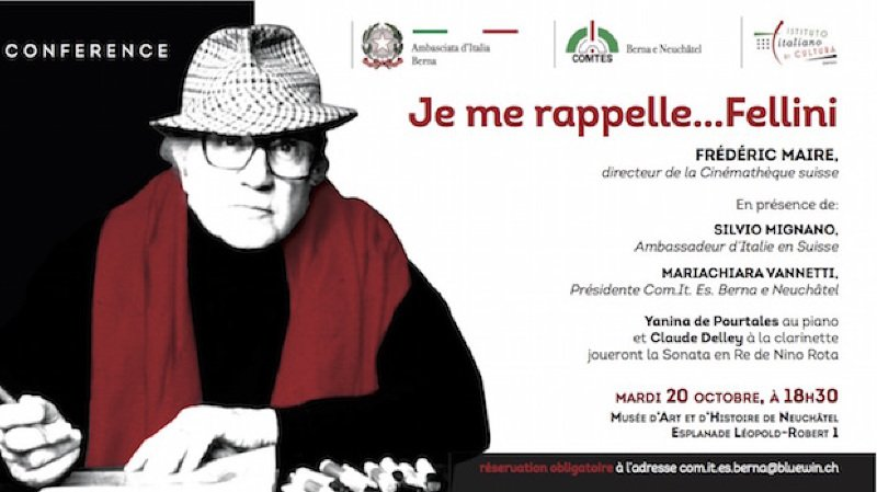 Je me rappelle...Fellini!