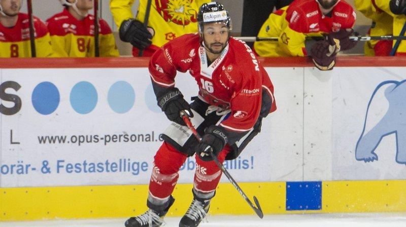 Troy Josephs, joueur canadien du HC Viège, ne jouera pas contre le HCC ce dimanche.