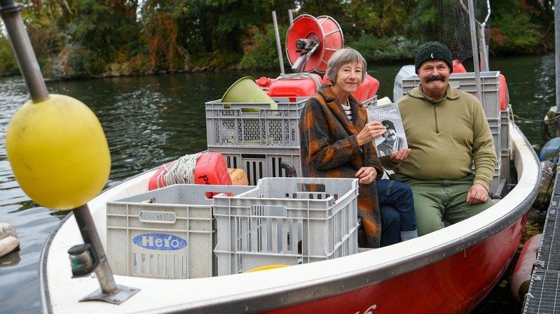 Auvernier: Denis Junod raconte sa vie de pêcheur dans un livre