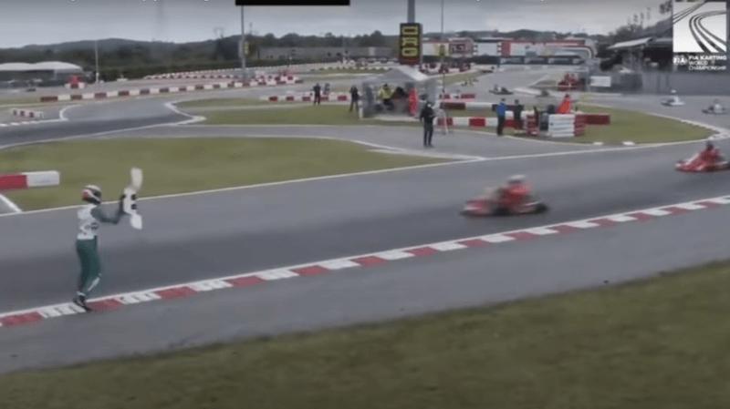Enquête de la FIA après le comportement fou d'un pilote — Karting