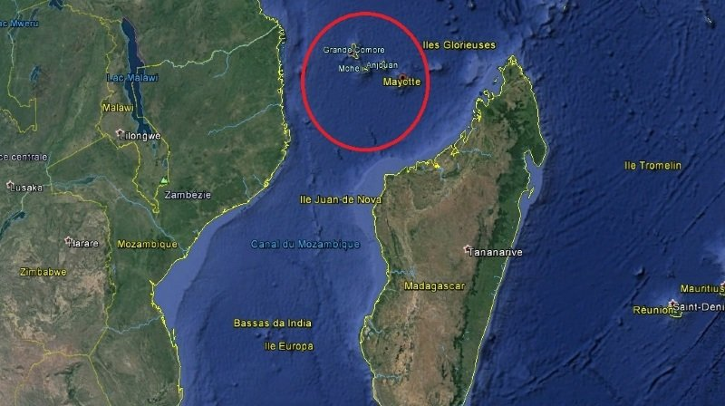 France: dix migrants, dont un enfant, meurent dans un naufrage à Mayotte