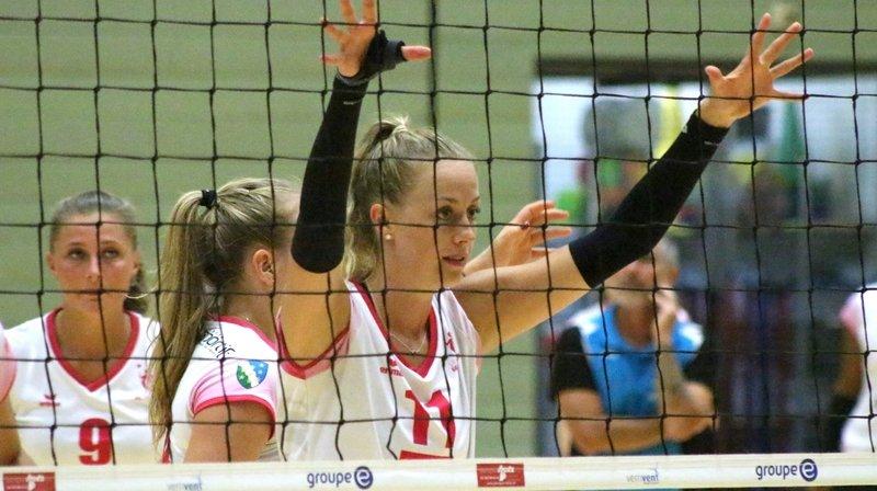 Alexandra Schabert (No 11) et ses coéquipières enchaînent les rencontres face à des équipes prétendantes aux premières places en LNA.