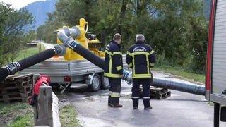 Tempête Alex: plusieurs cours d'eau suisses en état d'alerte