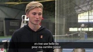 Les deux finalistes de Roland Garros junior sont de retour en Suisse