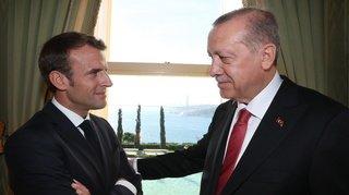 France-Turquie: l'Elysée dénonce les «déclarations très offensives» du président Erdogan