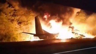 Ukraine: vingt-deux morts dans le crash d'un avion militaire