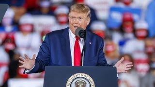 Présidentielle américaine: Trump prédit «une vague» républicaine malgré les sondages
