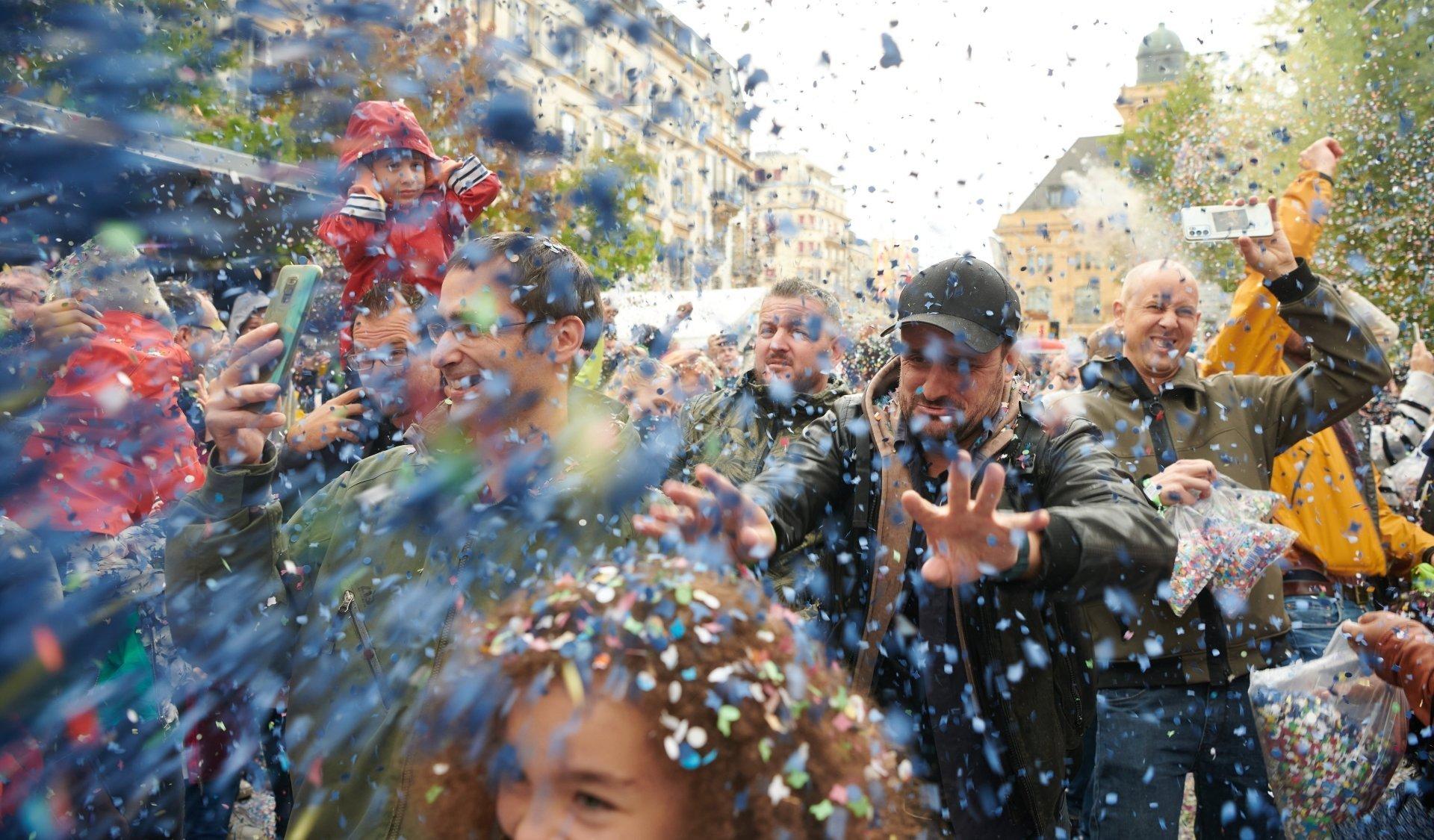 En 1934: l'usage des confettis est autorisé à la Fête des vendanges