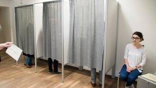 Communales: les Neuchâtelois ne se pressent pas aux urnes