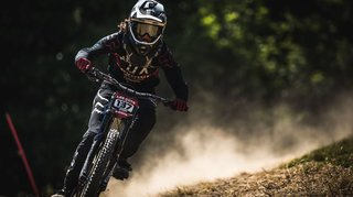 VTT de descente: Camille Balanche hors du top-5 à Maribor
