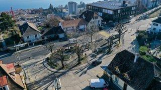 Neuchâtel: tables de pique-nique, pergolas et potagers à La Coudre