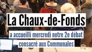 Communales: les meilleurs moments de notre débat à La Chaux-de-Fonds