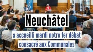 Communales: les meilleurs moments de notre débat à Neuchâtel