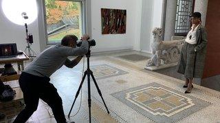 Un photographe renommé pour le shooting photo du magazine «Excellence»