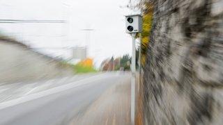 A 128 km/h au lieu de 60 le long du lac de Bienne