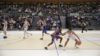 Basketball: Union Neuchâtel jouera à huis clos contre Massagno