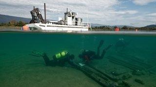 Trois épaves de bateaux livrent leurs secrets lors de fouilles à La Tène