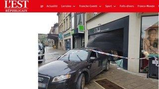 Pontarlier: deux bijouteries attaquées à la voiture bélier