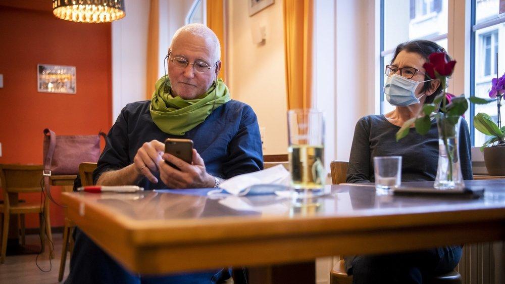 Patrick Herrmann, président des Verts neuchâtelois et nouveau conseiller communal à La Chaux-de-Fonds, peut regarder les résultats des élections communales avec une certaine satisfaction.