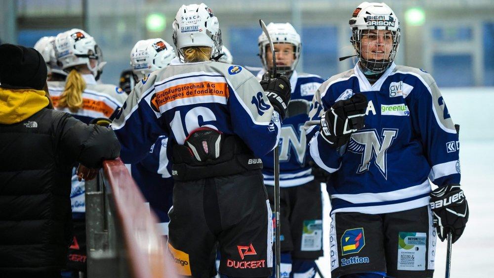 Hockey sur glace feminin: Neuchatel Hockey Academy - Zurich   NEUCHATEL 19/11/2017 Photo: Christian Galley