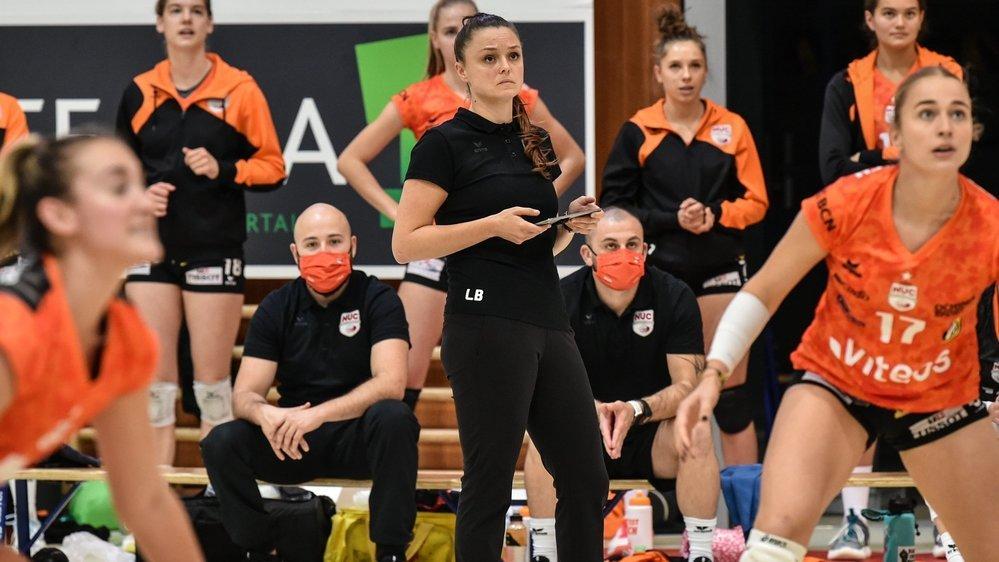 Lauren Bertolacci et les joueuses du NUC veulent les trois points à Genève.