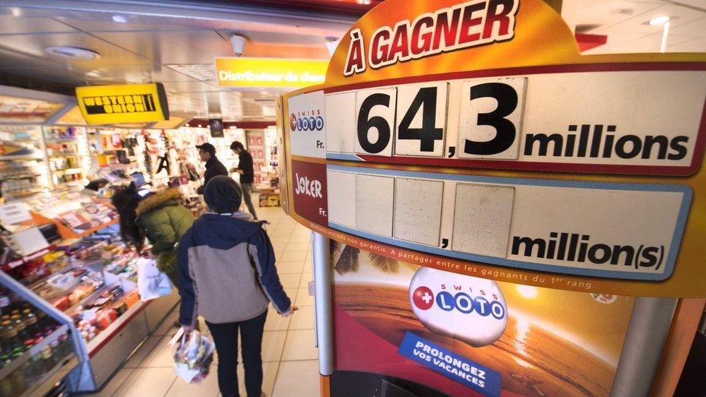 L'heureux gagnant d'un montant de 1 million de francs à la loterie n'est pas venu chercher son gain, selon Watson.ch.