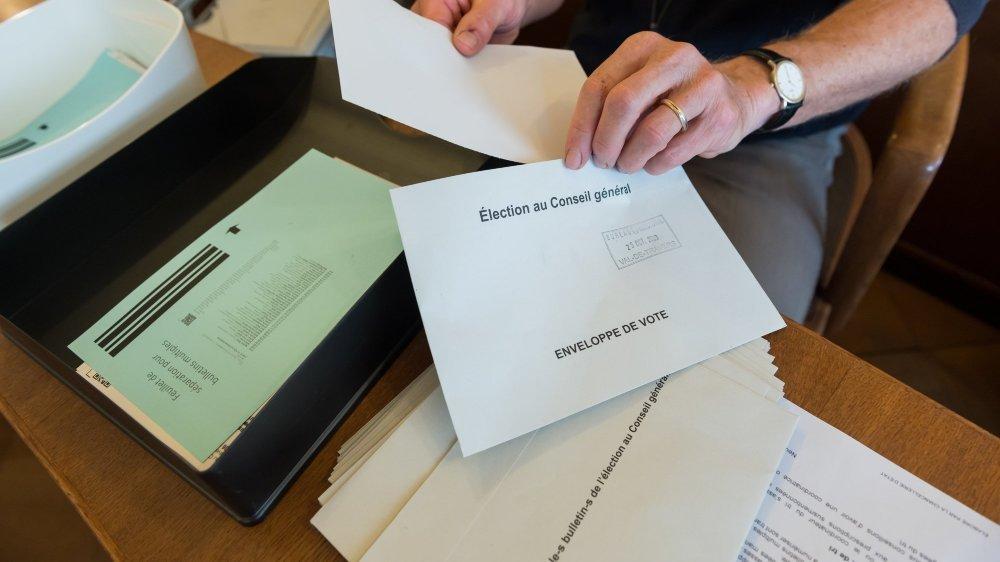 Le traitement des bulletins de vote reprendra lundi 26 octobre dans la matinée.