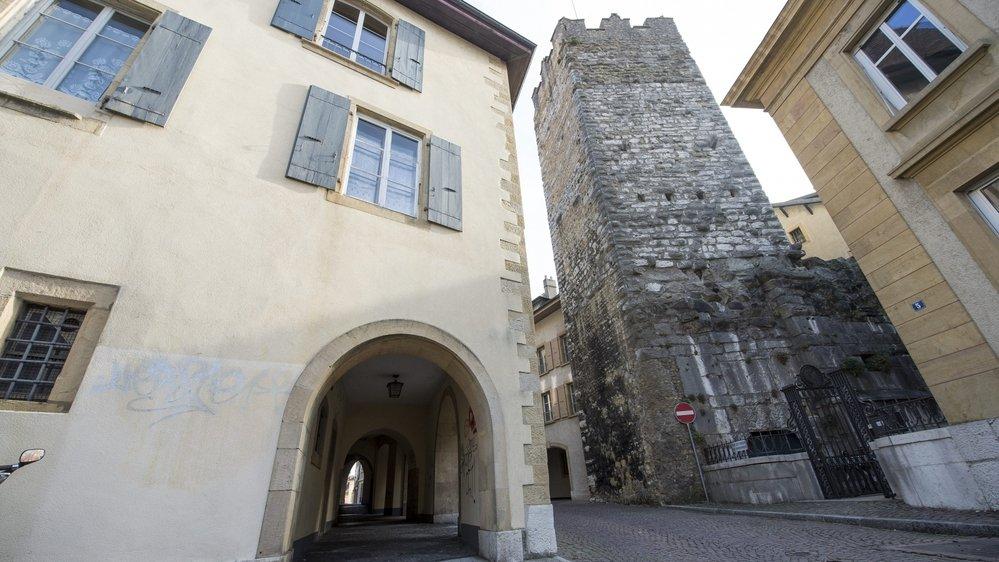 L'ancienne prison de Neuchâtel devrait être en travaux dès l'année prochaine.