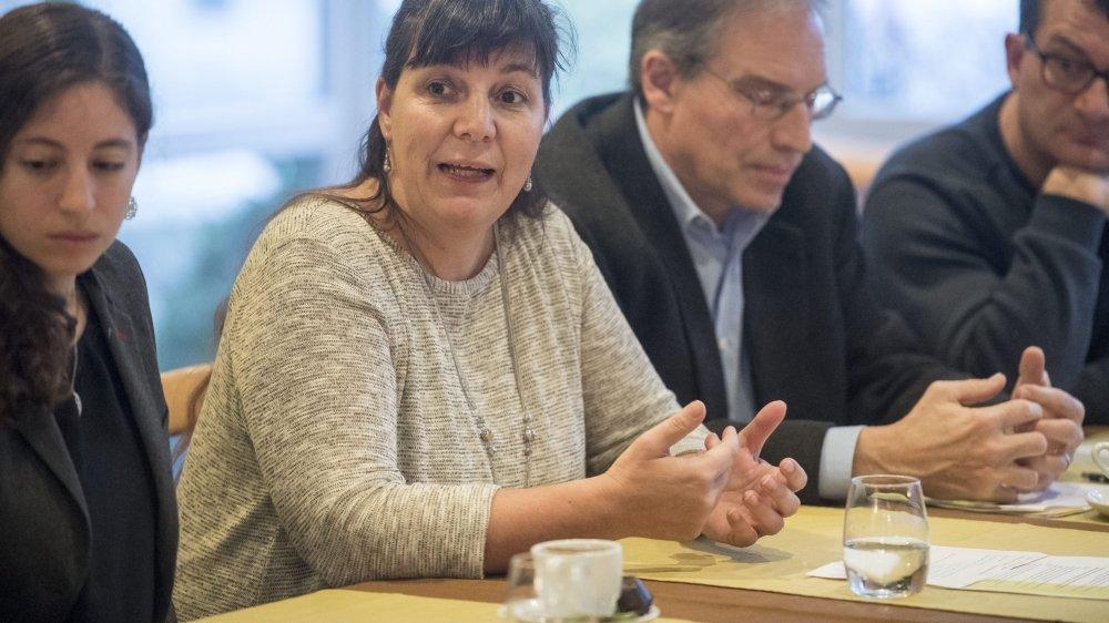 Marie-Laurence Sanroma est candidate à l'exécutif de Val-de-Ruz.
