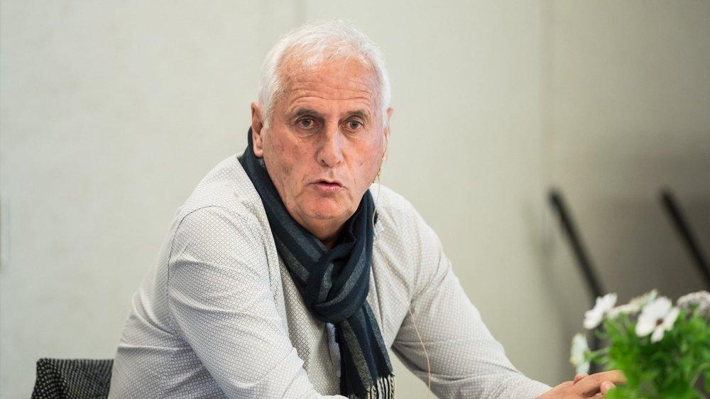 Bernard Challandes, entraîneur de l'équipe nationale du Kosovo