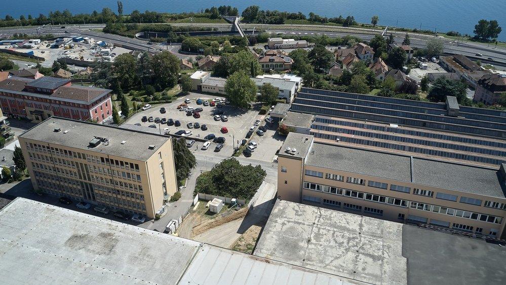 Le grand quartier de Tivoli sud doit s'ériger sur l'ancienne friche de l'usine Suchard.