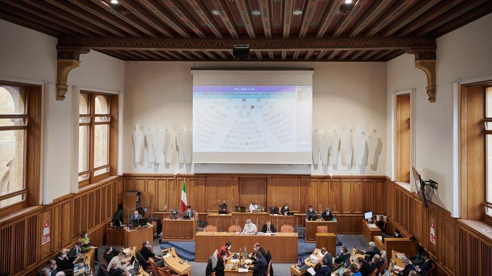 Le nombre de députés au Grand Conseil neuchâtelois passera de 115 à 100 lors de la prochaine législature.