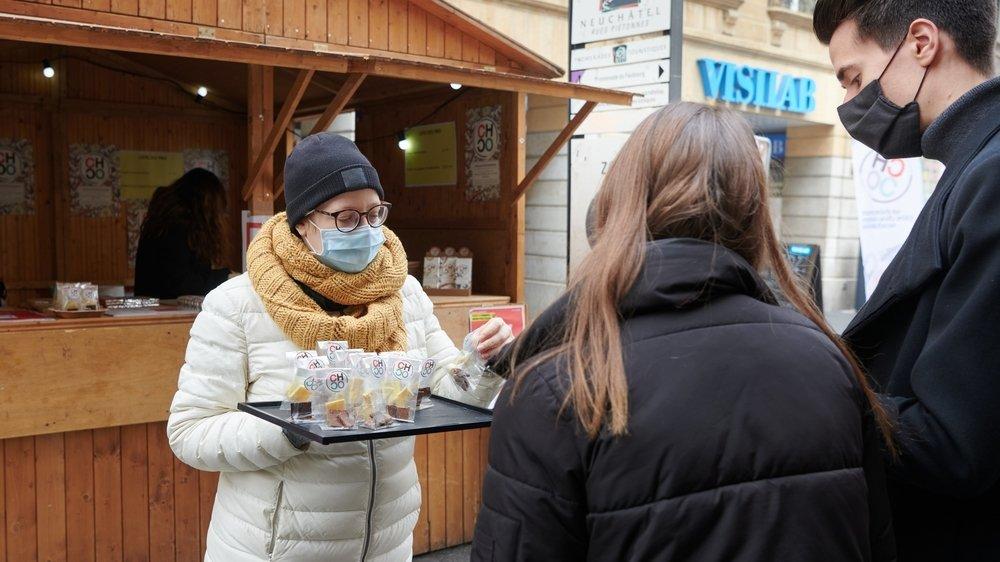 Le chocolat saveur lait sésame caramélisé a rencontré un vif succès auprès du public cette année.