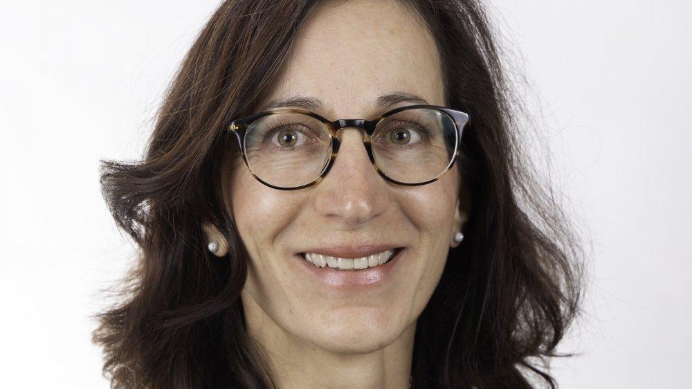 Valérie Dubosson, candidate des Verts à l'exécutif de La Tène.