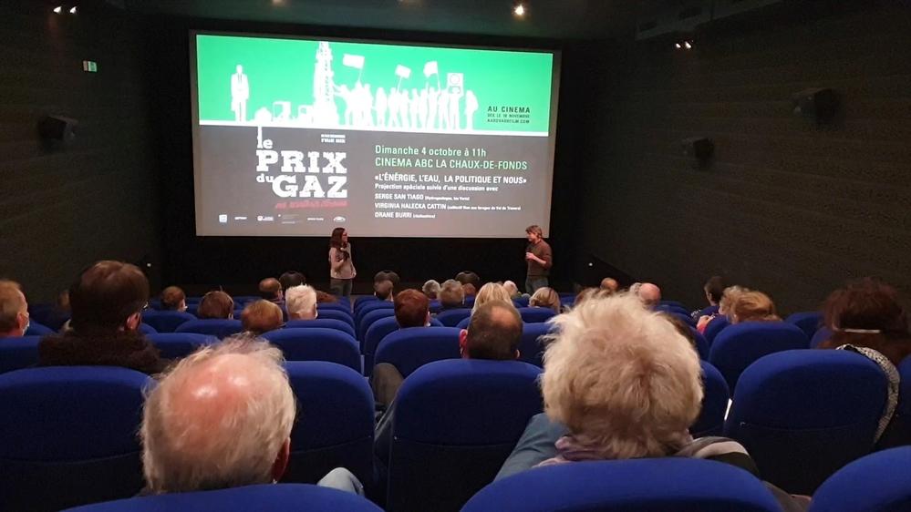C'était bien parti pour le film d'Orane Burri, projeté le 4 octobre en avant-première au cinéma ABC, à La Chaux-de-Fonds.