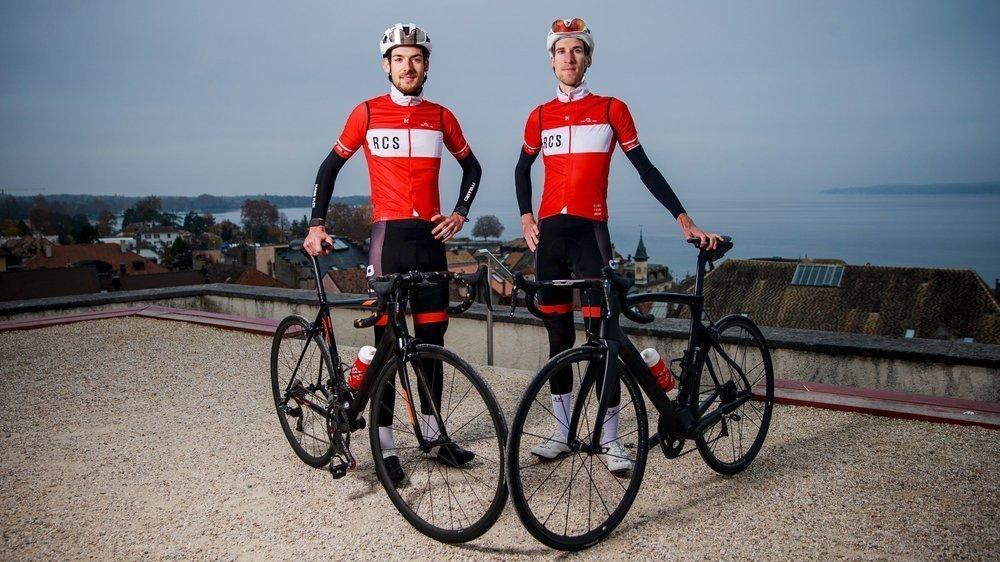 Âgés respectivement de 24 et 27 ans, Pierre (g.) et Loïc Ruffaut baignent dans le milieu cycliste depuis de nombreuses années.