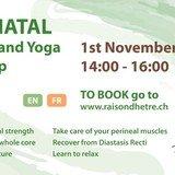 Postnatal Exercise and Yoga workshop FR/EN