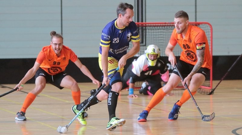 FUCk: l'équipe d'unihockey la plus déjantée de Suisse se trouve à Fleurier