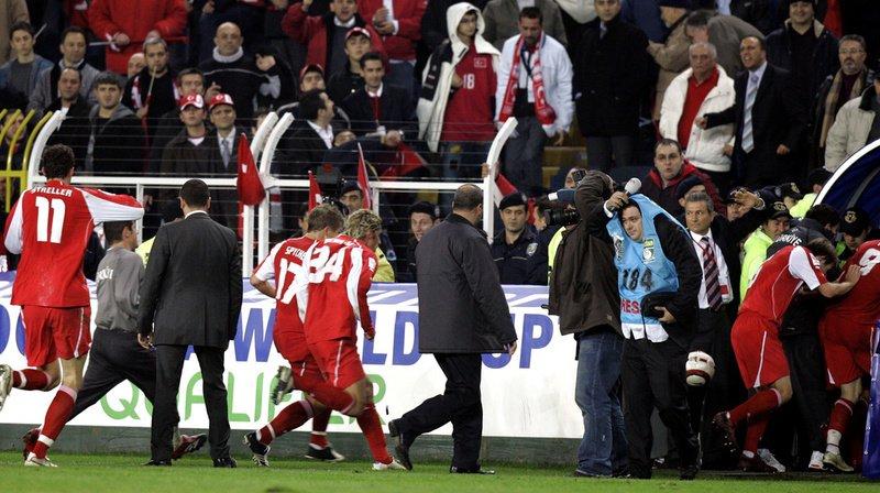 En ce 16 novembre 2005, l'équipe de Suisse s'était qualifiée pour le Mondial allemand mais avait vécu un véritable cauchemar à Istanbul contre la Turquie.