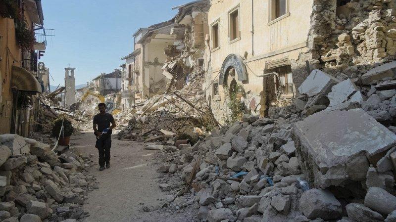 Amatrice, la ville la plus touchée par le séisme de 2016, avait porté plainte contre le journal pour diffamation et injure. (archives)