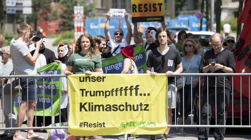 Climat: les Etats-Unis sortent effectivement de l'Accord de Paris