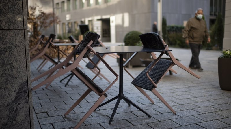 Covid-19: pas de réouverture avant le 6 décembre pour les cafés-restaurants neuchâtelois
