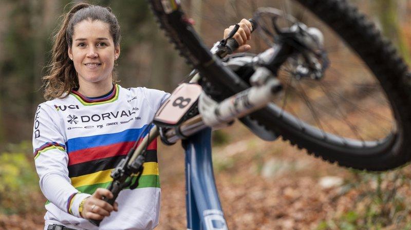 Camille Balanche, nouvelle reine de la descente, reste cool