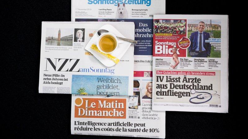 Revue de presse: coronavirus, accord-cadre avec l'UE et harcèlement à la RTS… les titres de ce dimanche