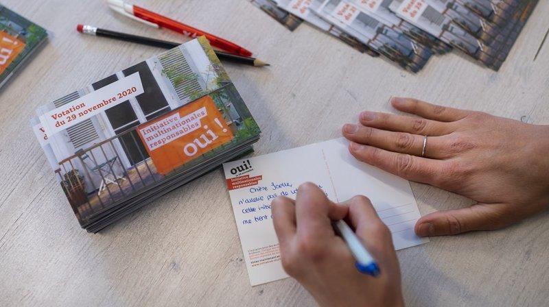 Multinationales responsables: des Neuchâtelois s'engagent pour le oui