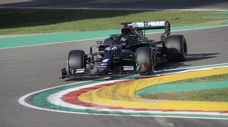 Confortable leader du classement des pilotes, Hamilton a devancé le Néerlandais Max Verstappen (Red Bull) de 0''297.