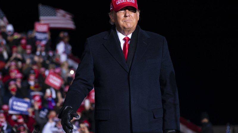 Présidentielle américaine: «Trump court d'événement en événement non-stop»
