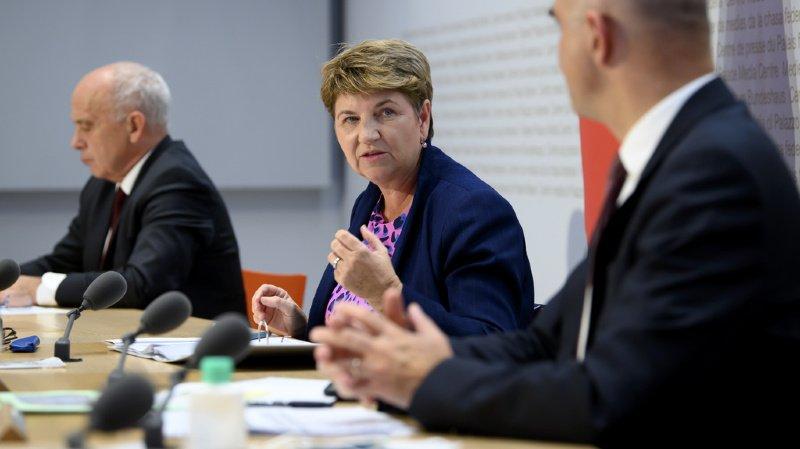 Accord-cadre: la Suisse a fixé sa position