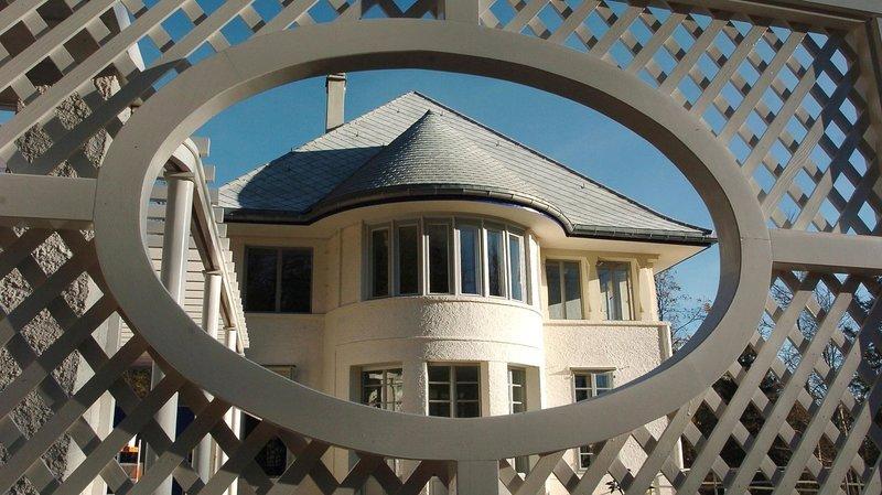 Première œuvre du Corbusier, la Maison blanche, à La Chaux-de-Fonds, est ouverte au public depuis 2005. L'architecte l'a bâtie pour ses parents au début du 20e siècle.    La Chaux-de-Fonds 27 10 2005 Photo Leuenberger